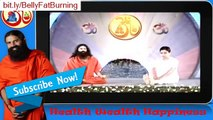 How Reduce fat on stomach and waist with Baba Ramdev Yoga