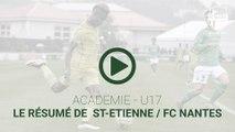 U17 : résumé vidéo d'ASSE-FCN