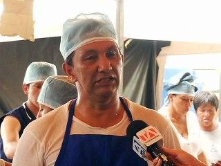 Gregorio Cevallos, comerciante de hamacas en Bahía de Caráquez