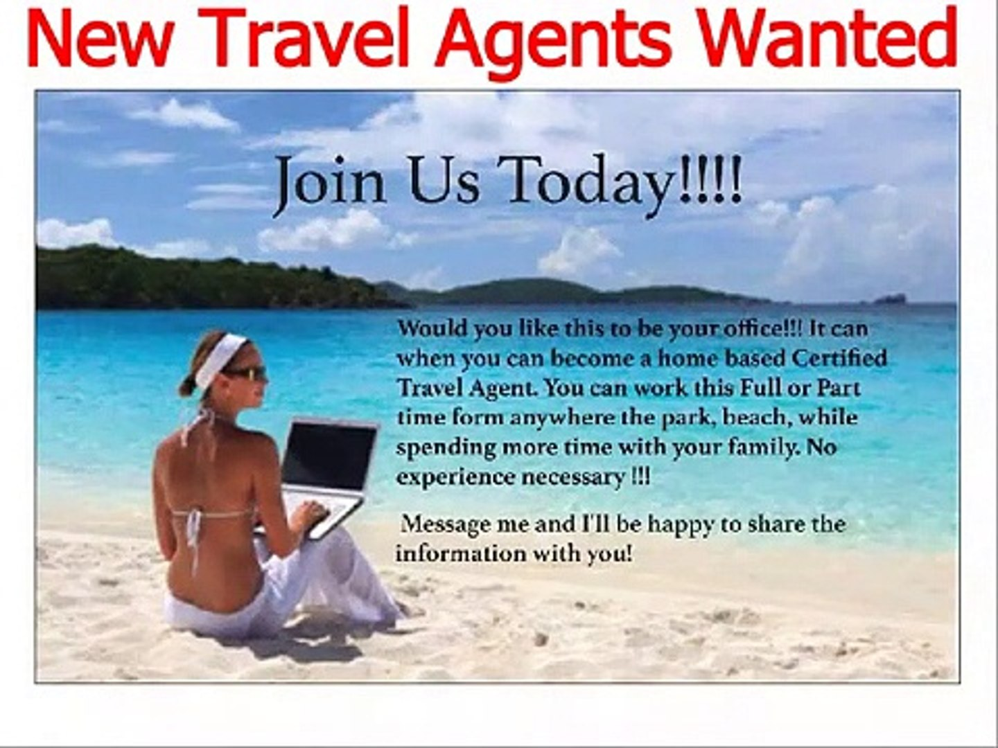 Get Paid Big Bucks to travel with Lawrence Thomas
