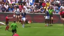 Quade Cooper and James O'Connor smashed by Leka Tagotago