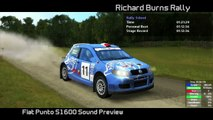 RBR - Fiat Punto S1600 Sound Preview (2012/03/24 fix)