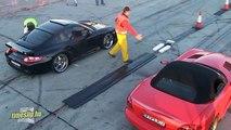Porsche 997 Techart Turbo Vs. Dodge Viper SRT 10