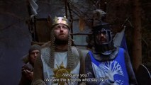 """""""We are now the Knights who say"""" - Monty Python and the Holy Grail"""