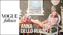 Anna Dello Russo :  une folle journée de Fashion Week  |  #VogueFollows  |  VOGUE PARIS