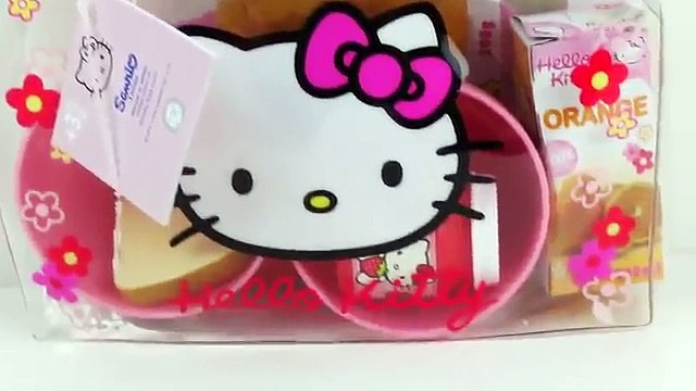 HELLO KITTY Sweet Bag Toy Food Play Doh Breakfast Dippin Dots Croissants