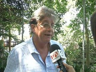 Alfredo Harmsen, propietario del hotel Saiananda de Bahía de Caráquez