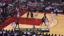 The Raptors with a 10-0 Run | Heat vs Raptors | Game 2 | May 5, 2016 | 2016 NBA Playoffs