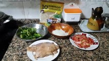 FAJITAS INTEGRALES  de pollo y verdura