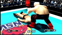 Virtual Pro Wrestling 64 Vader vs Antonio Inoki