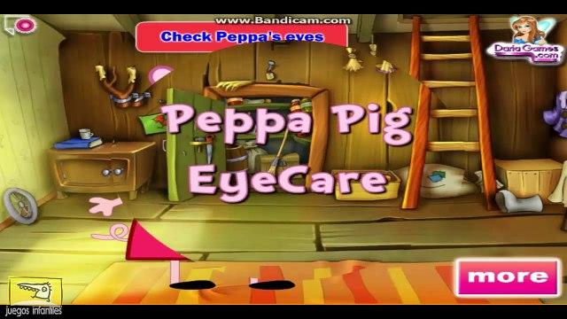 Juegos De Peppa Pig - Peppa Pig Cuidado De Los Ojos ᴴᴰ ❤️ Juegos Para Niños y Niñas