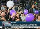 """España: coalición """"Unidos Podemos"""" podría vencer al PSOE en elecciones"""