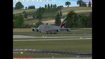 Airbus A380 Start & Landing At Vienna Airport [FSX]