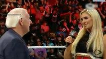 Charlotte Flair hizo llorar a Ric Flair 23-05-16
