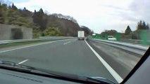 中央自動車道 上り 八王子JCT→石川PA 2009/03/23撮影