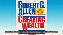 READ book  Creating Wealth Retire in Ten Years Using Allens Seven Principles  FREE BOOOK ONLINE