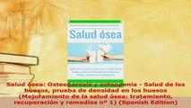 Download  Salud ósea Osteoporosis y osteopenia  Salud de los huesos prueba de densidad en los Free Books