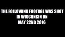 UFO SPOTTED IN WISCONSIN, USA - MAY 22, 2016 (FAKE OR NOT?)