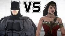 BATMAN VS WONDER WOMAN - EPIC SUPERHEROES BATTLE