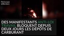 Occupation et évacuation du site pétrolier de Fos-sur-Mer
