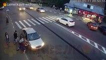 Il éclate une voiture après s'être fait tirer dessus