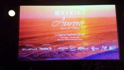 XIXILI - Aurora, Rise of Dawn Lingerie Fashion Show 2016