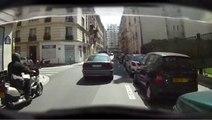 Doublement par la droite - Deux-roues - 20 sec - Sécurité routière - 2010