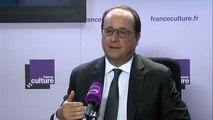 """François Hollande : """"La patrie, c'est..."""""""