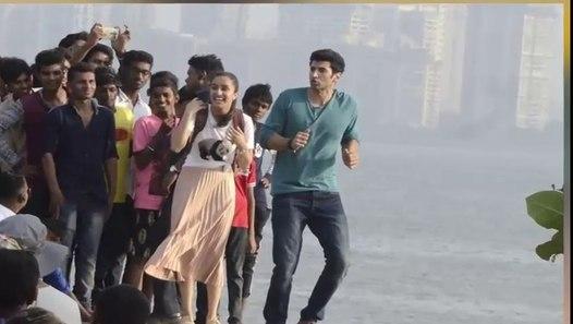 Shraddha-Aditya lock lips in OK Jaanu - Rediff.com Movies