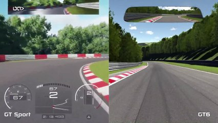 Gran Turismo Sport - vs - Gran Turismo 6 Ferrari 458 Gameplay Nürburgring de Gran Turismo Sport