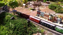 Family's LGB train set video #1 04/26/2014
