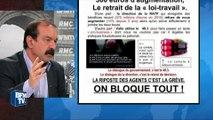"""Affiche CGT-RATP: """"La situation est explosive, c'est une façon de l'illustrer"""", dit Martinez"""
