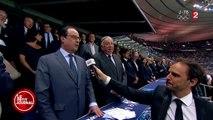 Quand François Hollande parle du nom de Zlatan! MDRR
