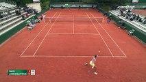 Roland Garros : Qiang Wang - Tessah Andrianjaftrimo (ÖZET)