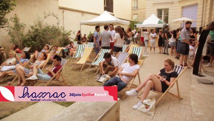 Transats, soleil & tongs au coeur de Paris | Hamac Festival 2016 : Humour & Musique | Teaser #2