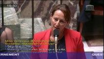 Chèque Energie : S. Royal répond à une question au Gouvernement