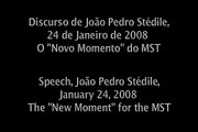 25 Anos do MST - 25 Years of the MST (João Pedro Stédile)  PART 1