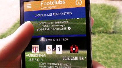 Découvrez l'application FootClubs Compagnon !