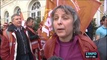 Loi travail : Une manifestation dans le calme au Mans