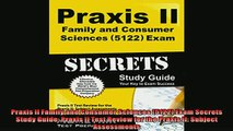 FREE DOWNLOAD  Praxis II Family and Consumer Sciences 5122 Exam Secrets Study Guide Praxis II Test  DOWNLOAD ONLINE