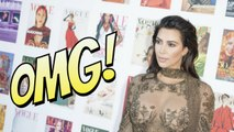 Kim Kardashian ose la robe transparente et dévoile tout