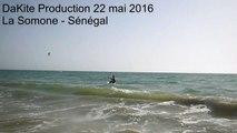 Débuts de Mehdi en kitesurf - La Somone 22 mai 2016