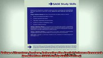 FREE PDF  Doing a Literature Review Releasing the Social Science Research Imagination SAGE Study READ ONLINE