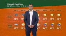 Roland Garros : quelle météo ces prochains jours ?