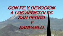 Salinas de Garci Mendoza 29 de junio con fe y devoción a los apóstoles San Pedro y San Pablo