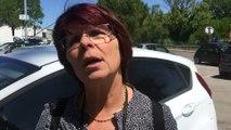 Joëlle (Interco) - Caravane orange Cfdt du Var - Draguignan le 24 mai 2016