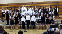 1-22-14 NJHS Newark Junior HS Winter Concert 7th Grade Mixed Choir - Fireflies