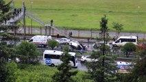Trabzon'da yaşanan feci kazada 1 kişi öldü 2 kişi yaralandı