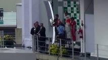 2012 11 25 16:00 Podium del Gran Premio de Brasil de fórmula uno