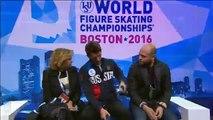 2016 Worlds Men SP Recap Javier Fernandez Patrick Chan Interview